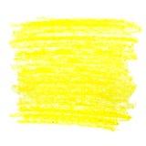Movimientos coloridos del cepillo de la cera Imagen de archivo libre de regalías