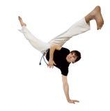 Movimientos de Capoeira Imagenes de archivo
