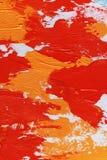 Movimientos de la pintura al óleo Fotografía de archivo