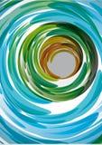 Movimientos de los cepillos. Fondo abstracto Foto de archivo libre de regalías