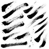 Movimientos del cepillo stock de ilustración