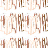 Movimientos del cepillo Fotografía de archivo
