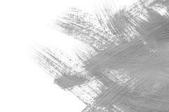 Movimientos grises del cepillo Imagenes de archivo