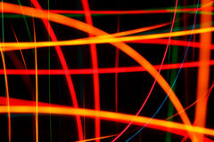 Movimientos ligeros abstractos imagen de archivo