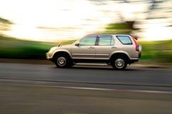 Moving автомобиль Стоковая Фотография