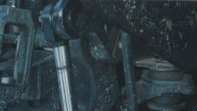 Moving деталь трактора сток-видео