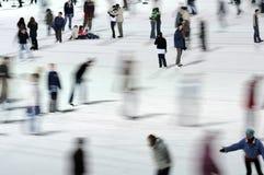 moving конькобежцы Стоковое Изображение RF