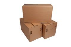 Moving коробка Стоковая Фотография RF