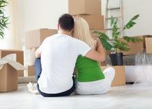 Moving дом стоковые изображения rf