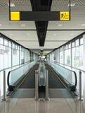 Moving дорожка публично строя Стоковая Фотография RF