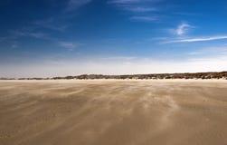 Moving песок, Terschelling Стоковая Фотография RF