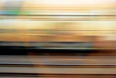moving поезд Стоковое Изображение RF