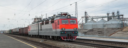 moving поезд Стоковая Фотография