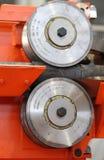 Moving поток workpieces металла Стоковые Изображения RF