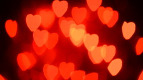 Moving сердца сток-видео