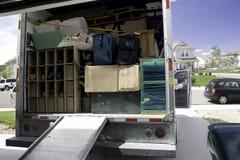 moving упаковка Стоковая Фотография
