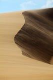 Moving дюны в Ne Mui, Вьетнаме Стоковая Фотография