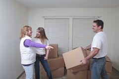 Moving in Royalty Free Stock Photos
