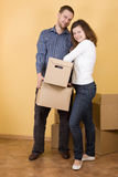 Moving in Stock Photos