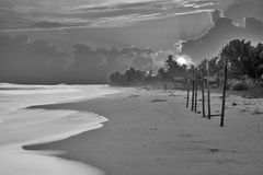 Moving. Hikkaduwa beach sri lanka. One of the most scenic and attractive tourist destination in the small Island paradice Royalty Free Stock Photo