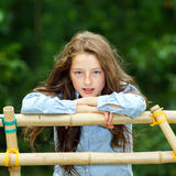 Moving into adulthood. Outdoor portrait of teenage girl. Stock Images