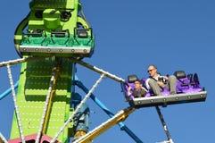 Moving amusement ride Stock Image