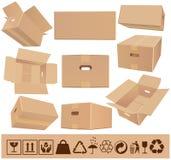 Moving askar Fotografering för Bildbyråer