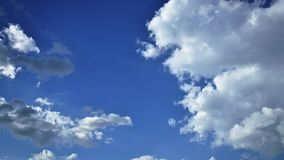 Moving beautiful clouds Royalty Free Stock Photography