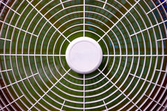 Moving blades in electric fan Royalty Free Stock Image