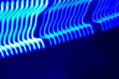 Moving blue leds Stock Photos