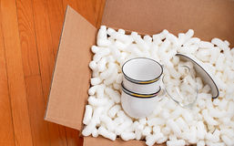 Moving box Stock Images