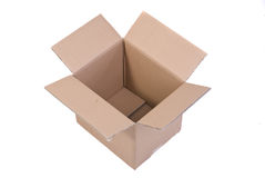 Moving Box Royalty Free Stock Photo