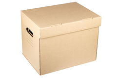 Moving box Royalty Free Stock Photography