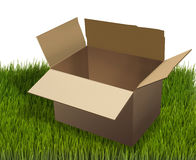 Moving Box. Stock Photography
