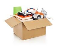 Moving box Royalty Free Stock Photos