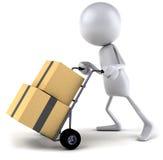 Moving boxes Stock Photos
