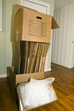 Moving Boxes. Boxes for packing or moving Royalty Free Stock Image