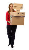 Moving business Stock Image
