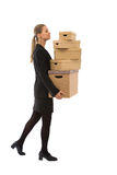 Moving business Stock Photos