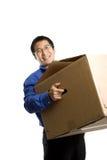 Moving businessman Stock Image