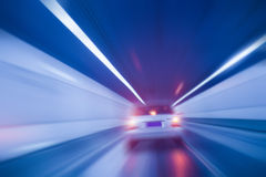 Moving car Stock Images
