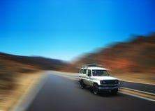 Moving car royalty free stock image