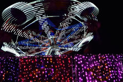 Free Moving Carnival Lights Stock Photo - 61606330