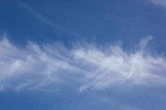 Moving cloud background Stock Photography