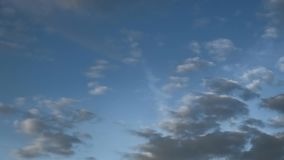 Moving clouds and blue sky, The vast blue sky and clouds sky, Sky with clouds weather nature cloud blue stock video footage