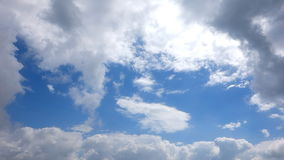 Moving clouds stock footage