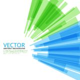 Moving colorful abstract background Stock Photo