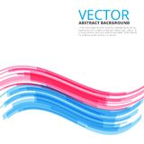 Moving colorful abstract background. Moving wave blue red colorful abstract background royalty free illustration