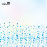 Moving colorful transparent arrows, vector background.  Royalty Free Stock Images