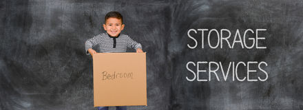 Moving Company Helping People Stock Photography